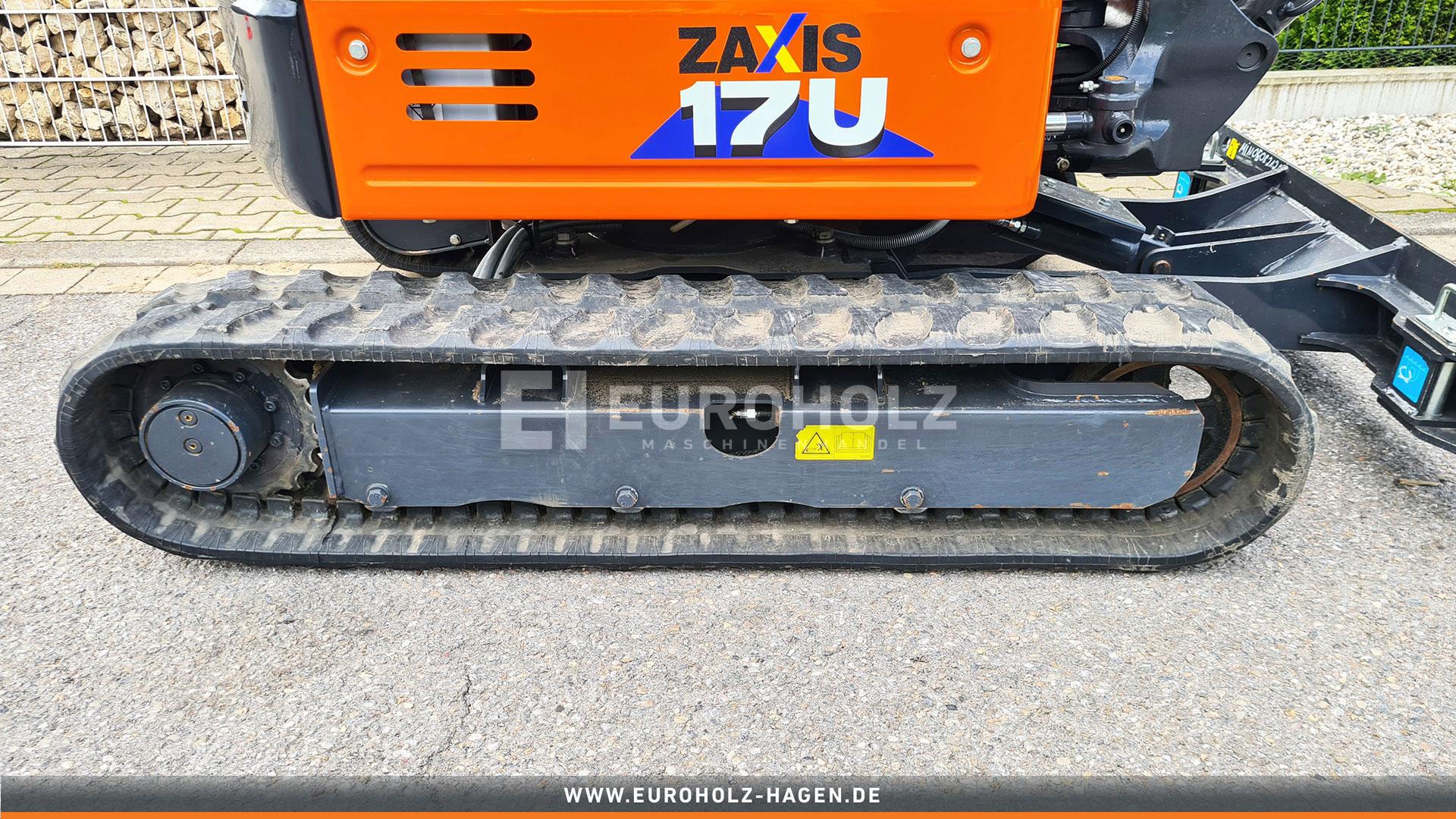 Minibagger Hitachi ZX 17U - 6 YR wie Neu nur 41 Bh MS01