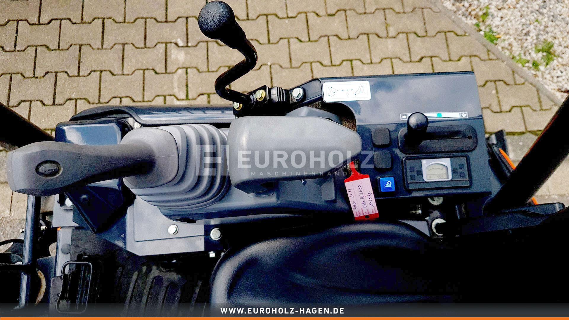 Minibagger Hitachi ZX 17U - 6 YR wie Neu nur 49 Bh MS01