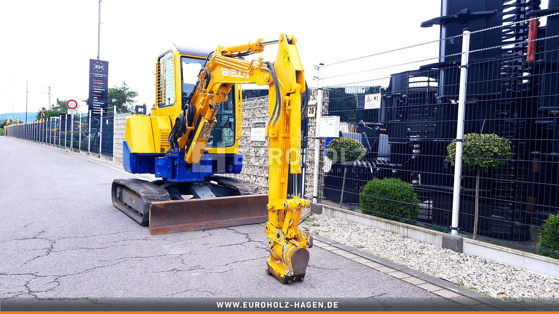 Minibagger Takeuchi TB 138 FR Powertillt MS 03 nur 1133 Bh