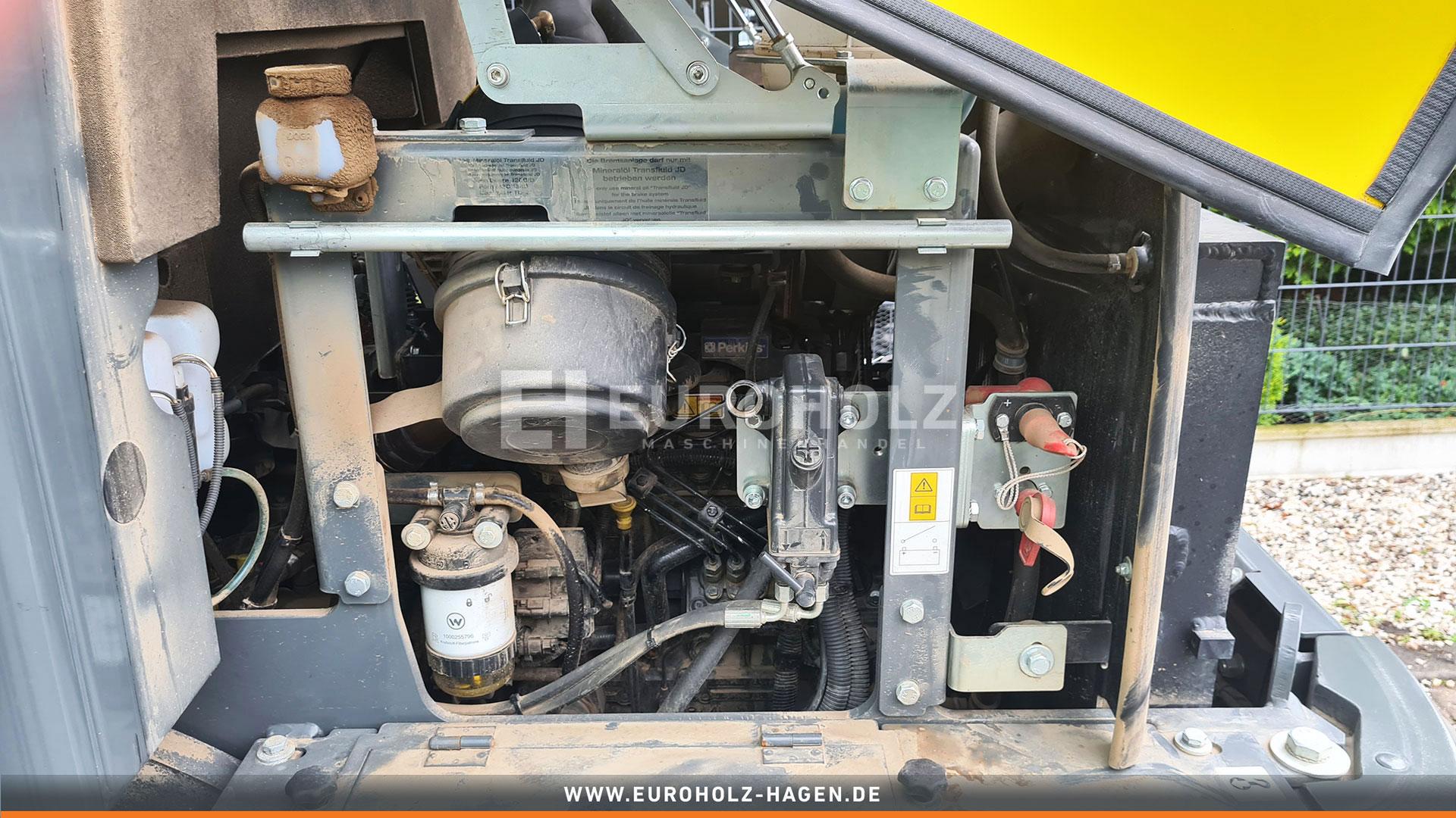 Radlader Wacker WL 38 mit SW Schaufel. nur 615 Bh Top Zustand