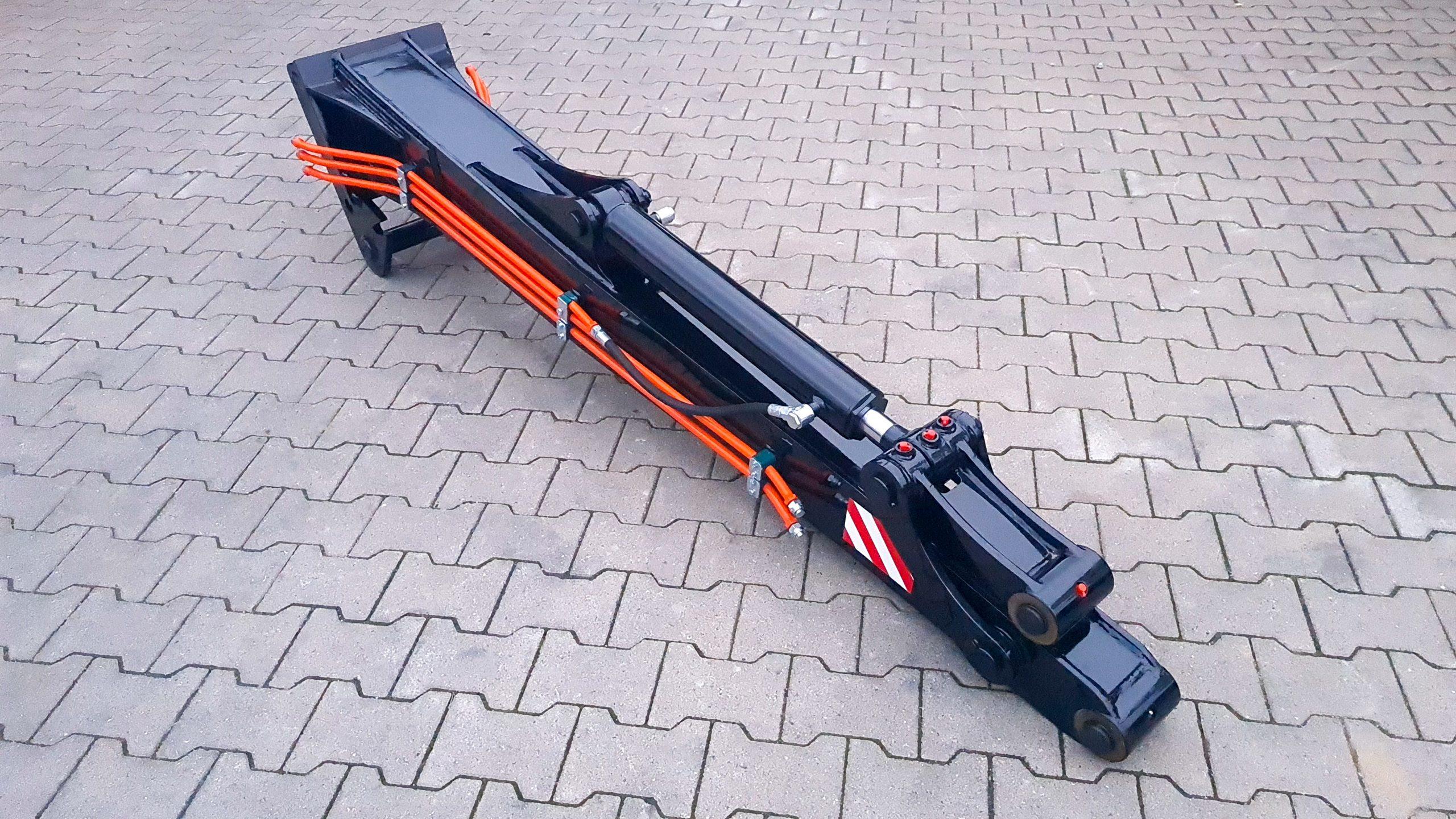 Armverlängerung passend für Lehnhoff MS08 / 2000 mm / Kat. 3K / inkl. 2 zusätzlicher Hydraulikleitungen