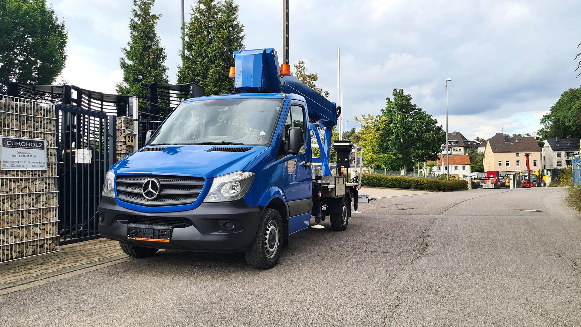 LKW Mercedes-Benz Sprinter 314 PALFINGER P 250 BK 25m nur 20 tkm