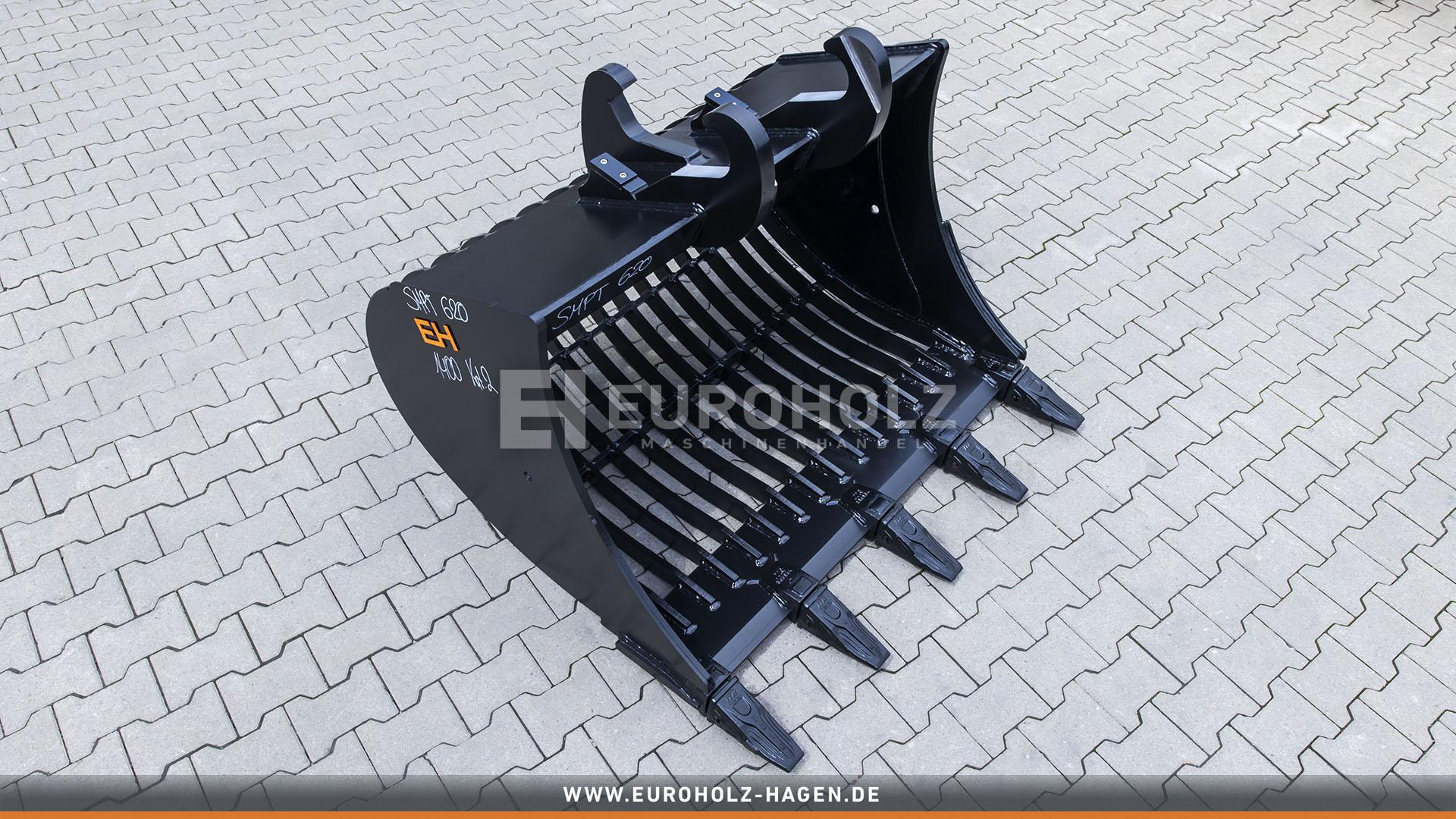 Skeleton bucket suitable for Atlas SMP T620 / 1400 mm / cat. 2G