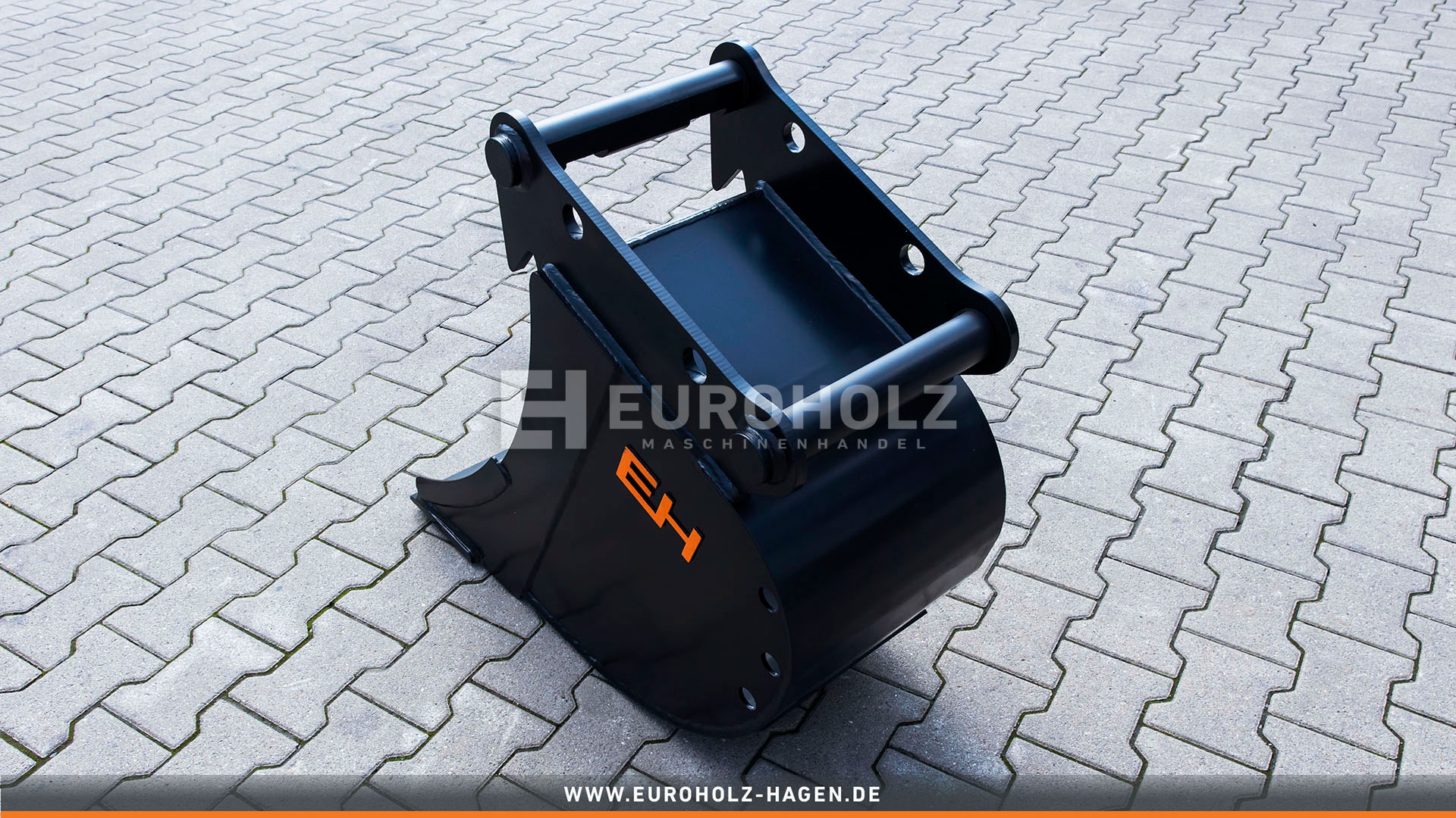 Digging bucket suitable for Lehnhoff MS08 SY / 400 mm /cat. 5K / without teeth