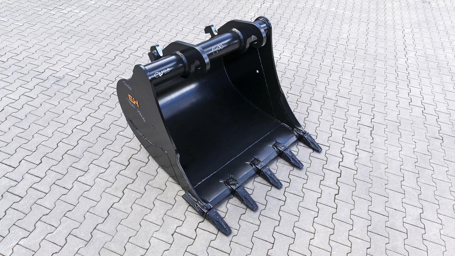 Digging bucket suitable for Verachtert CW20 / 1400 mm / cat. 2G