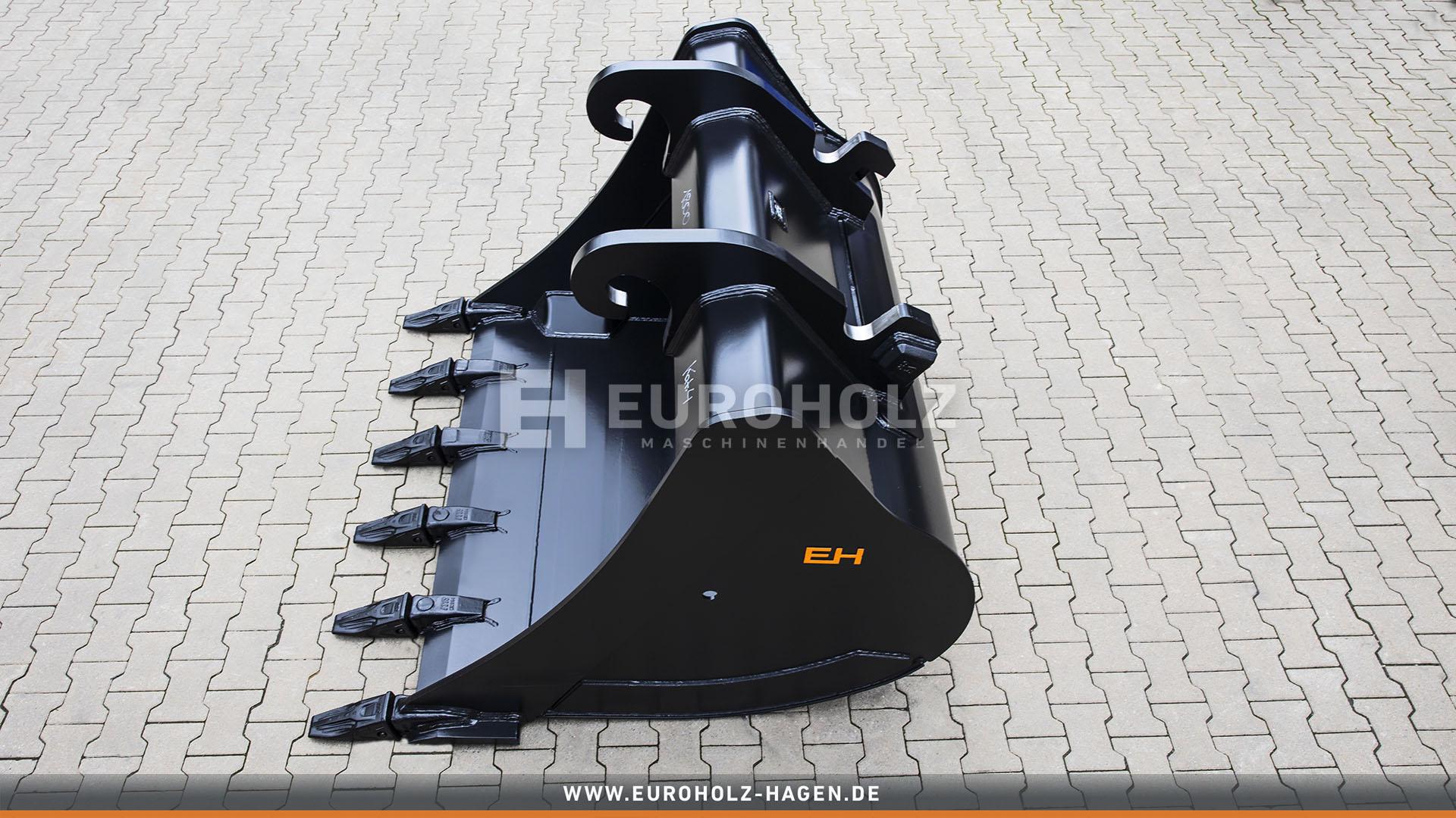 Digging bucket suitable for Verachtert CW45 / 1800 mm / cat. 4G