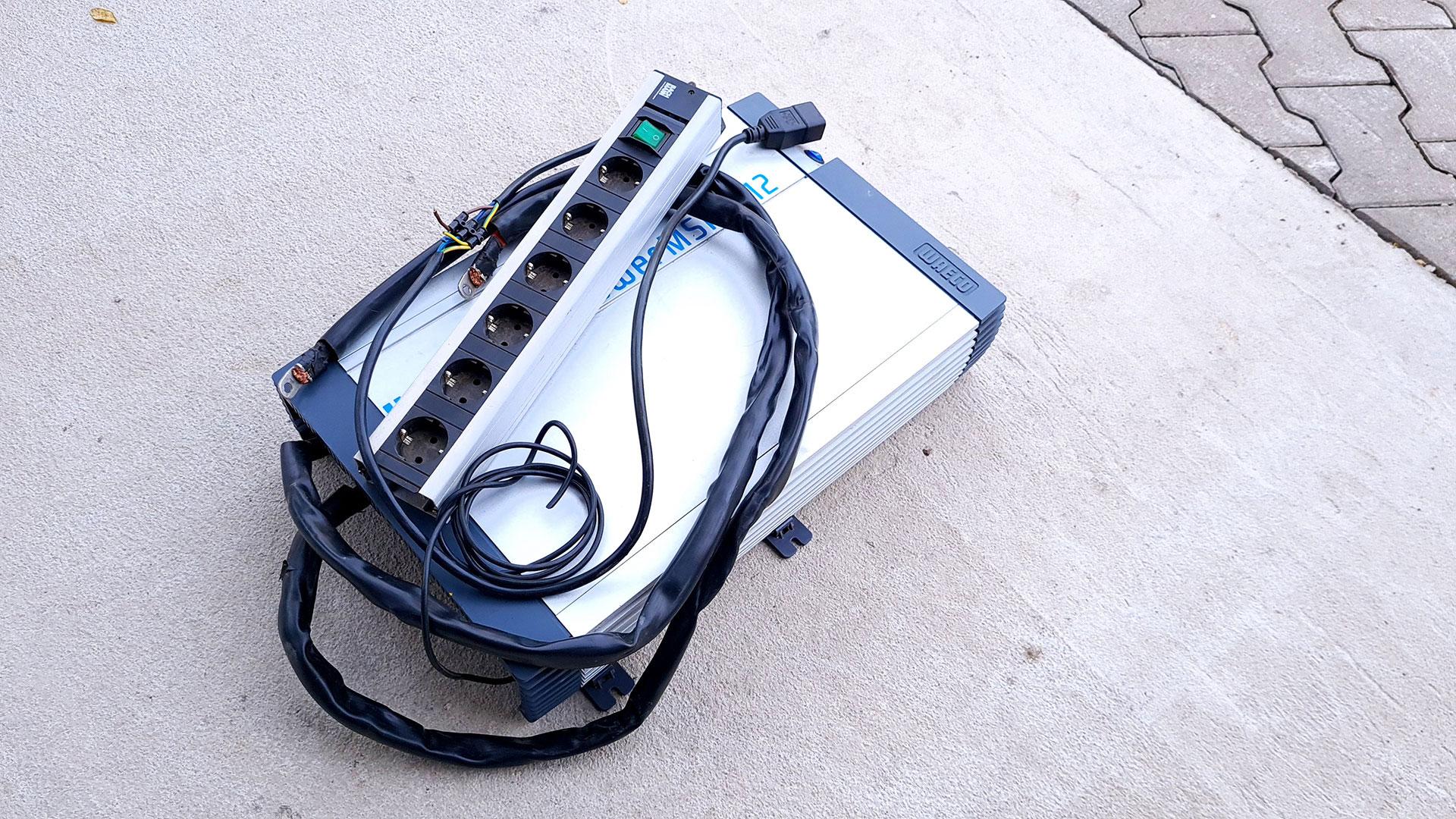 Wechselrichter WAECO SinePower MSP 2512 2500 Watt