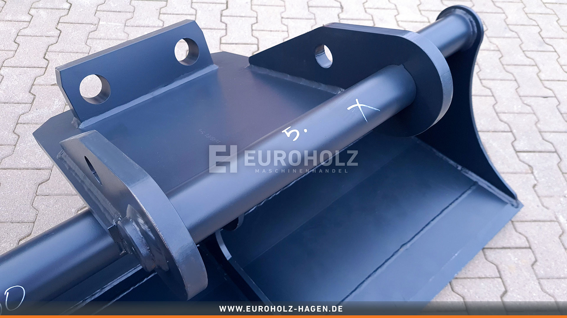 Ditch cleaning bucket suitable for Lehnhoff MS10 / 1800 mm / cat. 2G