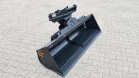 Hydraulischer Grabenräumlöffel OilQuick OQ45-5 / 1800 mm / Kat. 5K / mit Lasthalteventil