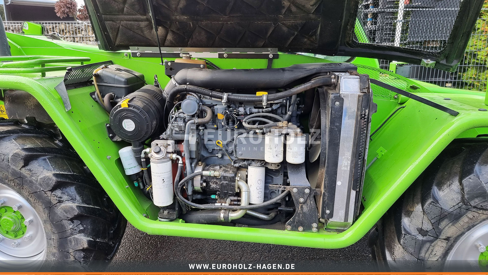 Radlader MERLO P 34.7 Turbo 4x4 Allrad 40 km/h