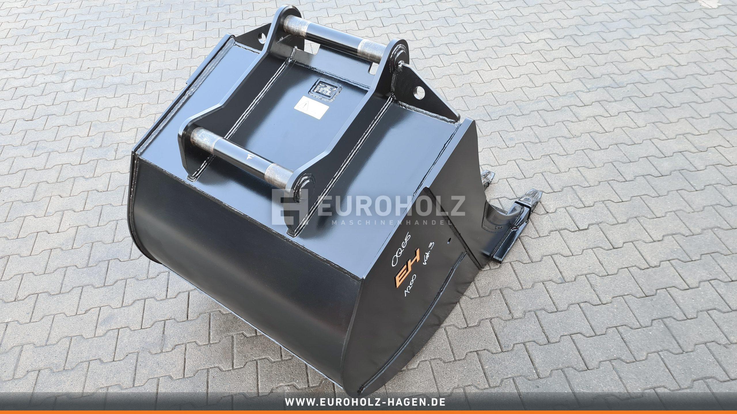 Digging bucket OilQuick OQ65 / 1200 mm / cat. 3G