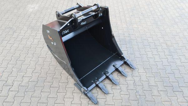 Tieflöffel OilQuick OQ65 / 1200 mm / Kat. 3G